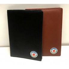 The Orchards Leather Scorecard Holder